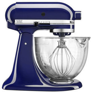 KitchenAid 5 Qt Glass Bowl Tilt Head Stand Mixer