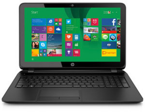 "HP Intel Celeron 15.6"" Touch Laptop w/ 4GB Mem + 500GB HDD - Thursday"