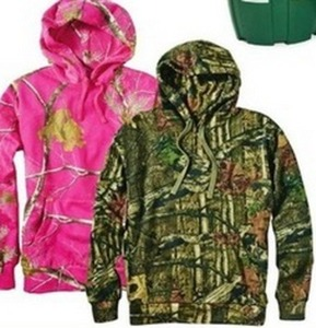 Men's or Ladies' Realtree or Mossy Oak Hoodie