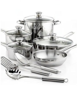 Tools of the Trade Stainless Steel 12 Piece Cookware Set (After Rebate)