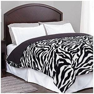 Living Colors Faux Fur Comforters