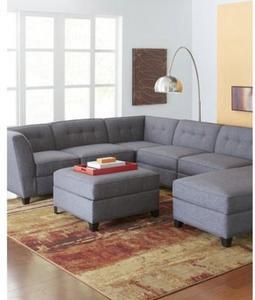 Harper Fabric Modular Living Room Furniture Collection