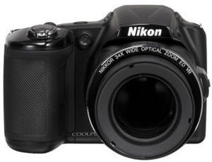 Nikon Coolpix L830 16.0MP Digital Black Camera w/ Free Sandisk 16GB Memory Card