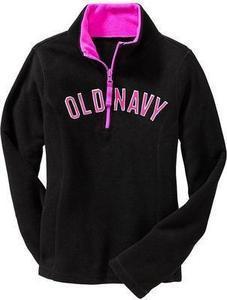 Girls' Logo Fleece Half-Zips