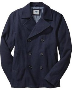 Men's Wool-Blend Peacoats