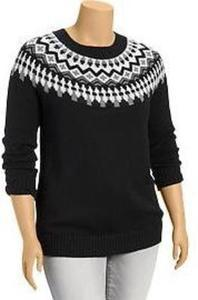 Women's Fair Isle Crew Sweaters