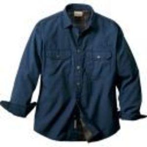 Cabela's Flannel-Lined Canvas Shirt Jac