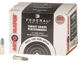 Federal Champion AutoMatch .22 LR Rimfire Ammo