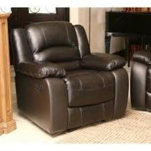 Abbyson Living Top Grain Italian Leather Recliner