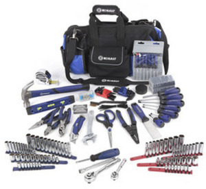 Kobalt 230-PC Household Tool Set with Soft Case