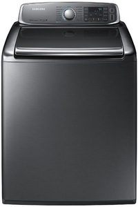 Samsung 5.6 cu. ft. Washer & 9.5 cu. ft. Electric Dryer