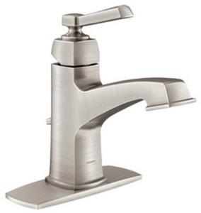 Moen Boardwalk  Brushed Nickel Bathroom Faucet