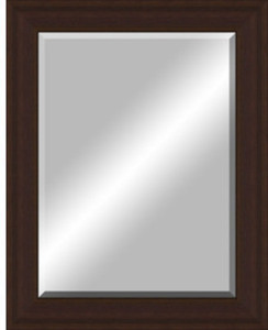 48-in x 38-in Oil Rubbed Bronze Frame Wall Mirror