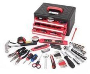 Hyper Tough 86-Piece All Purpose Tool Set with 3-Drawer Case