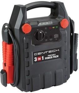Cen-Tech 3-in-1 Portable Power Pack w/ Jump Starter