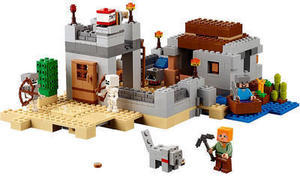 LEGO Minecraft The Desert Outpost