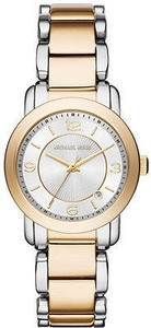 Michael Kors Women's Janey Two-Tone Stainless Steel Bracelet Watch 33mm MK3487