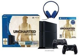 PS4 500 GB Uncharted Gaming Console Bundle