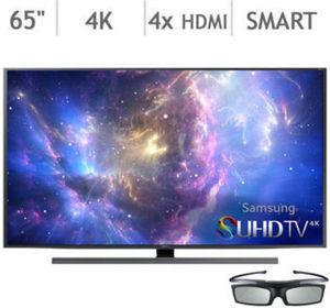 """Samsung 65"""" Class 4K Ultra HD Smart 3D TV UN65JS850DFXZA"""