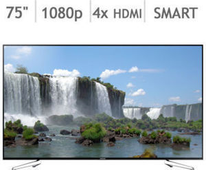 "Samsung 75"" 1080P Smart LED LCD TV UN75J630DAFXZA"