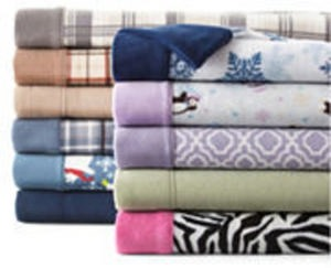All Sunbeam Twin Fleece Sheet Sets