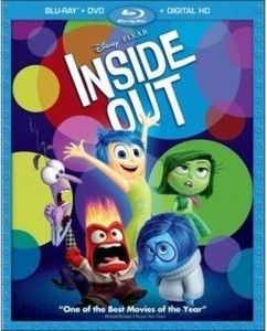 Inside Out (Blu-ray/DVD) (Digital Copy) 2015