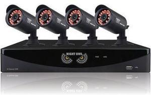 Night Owl F6 Series 4-Camera Security Set