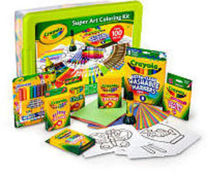 Crayola Super Art Coloring Kit - Green