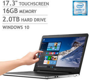 Dell Inspiron 17 5000 Series Touchscreen Laptop w/Intel Core i7