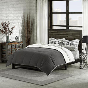 Cannon Down Alternative Comforter – Charcoal