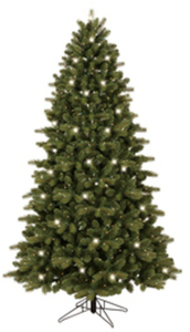 GE 7-ft. Colorado Spruce Pre-Lit Artificial Christmas Tree
