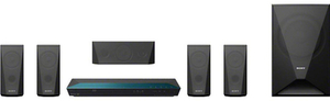 Sony 5.1 Channel Blu ray Disc Theater System with Wi Fi