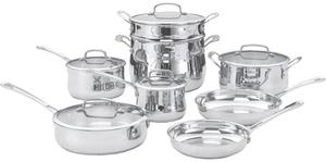 Cuisinart Contour Stainless 13 pc. Cookware Set
