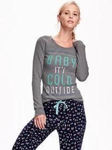 Women's Long-Sleeve Waffle-Knit Shirts