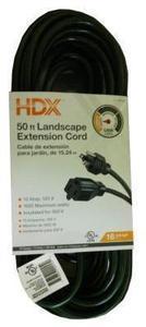 HDX 50' Landscape Extension Cord