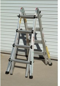 Haul Master 17Ft. Type 1 A Multi-Task Ladder