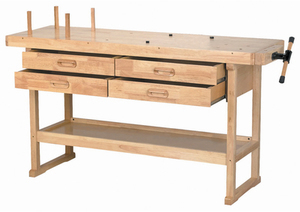Windsor Design 60 in. 4 Drawer Hardwood Workbench