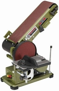 Central Machinery 4 in. x 36 in. Belt/6 in. Disc Sander