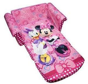 Marshmallow Fun Company Children's Upholstered 2 in 1 Flip Open Sofa, Disney Minnie's Bow -tique w/ Coupon #11