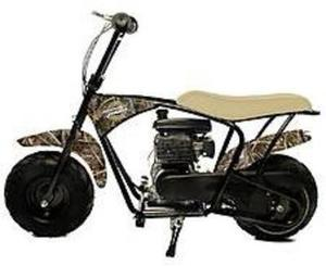 Monster Moto MM-B80RT 79.5cc Realtree Youth Mini Gas Bike + $100 in Points