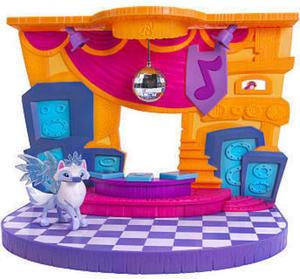Animal Jam Club Geoz Dance Party Playset