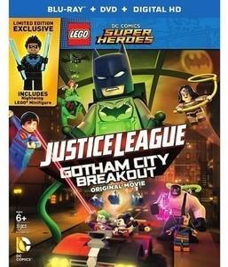 LEGO DC Comics Super Heroes: Justice League: Gotham City Breakout (Blu-ray)