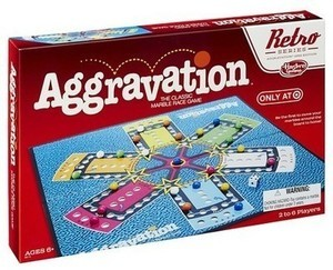 Hasbro Aggravation Board Game