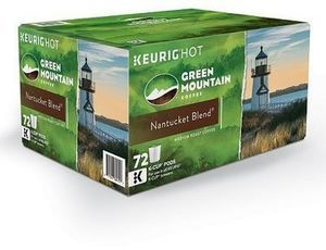 Keurig K-Cup Pod Green Mountain Coffee Nantucket Blend Medium Roast Coffee - 72-pk.
