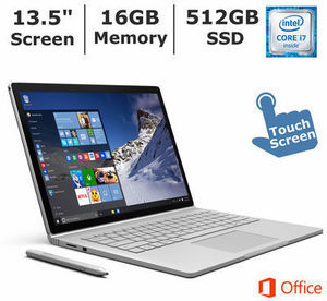 Microsoft Surface Book 2-in-1 Laptop, Intel Core i5, 8GB Memory, 128GB SSD Microsoft Surface Book 2-in-1 Laptop Computer
