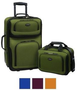 U.S. Traveler by Traveler's Choice RIO 2-Pc. Expandable Carry-on Luggage Set