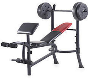 Weider Pro 265 80 lb. with Vinyl Weight Set