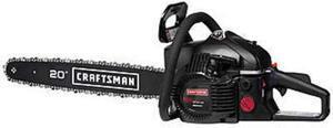 "Craftsman 20"" 46cc Gas Chainsaw with Bonus Chain"