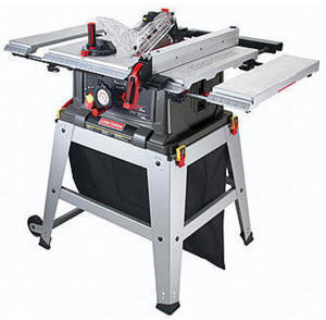 "Craftsman 10"" Table Saw with Laser Trac"