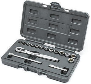Craftsman 16 pc drive socket wrench set